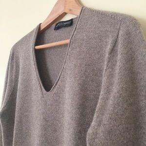 Guido Lombardi / cashmere sweater made in Italy